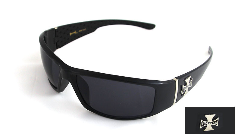 Choppers Biker Sonnenbrille Switch schwarz v2