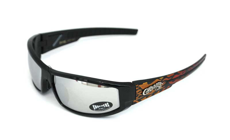 Choppers Biker Sonnenbrille Wind orange verspiegelt