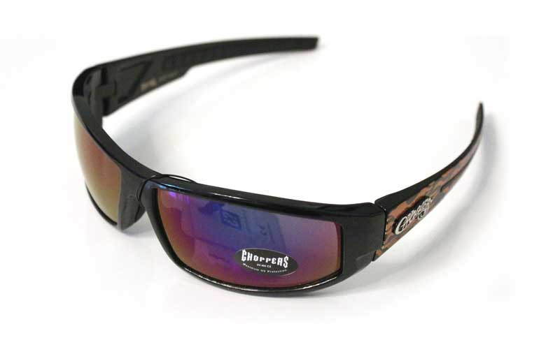Choppers Biker Sonnenbrille Wind orange II