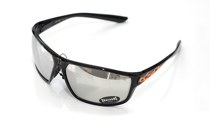 Choppers Biker Sonnenbrille Shift schwarz-orange M