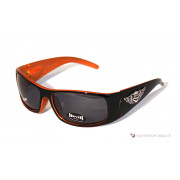 Choppers Biker Sonnenbrille Street orange-schwarz