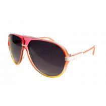 Retro Sonnenbrille Orange-Pink