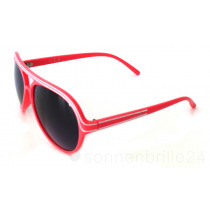 Retro Style Sonnenbrille Kick rot