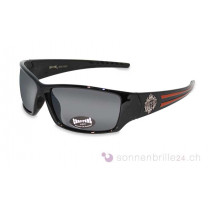 Choppers Biker Sonnenbrille Fly schwarz-orange