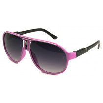 Retro-Sonnenbrille colored pink