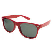 Blues Brothers Retro Sonnenbrille Wayfarer rot