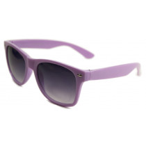 Blues Brothers Retro Sonnenbrille Wayfarer Big Size violett