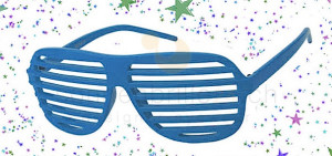 Party-Sonnenbrille Shutter Shades